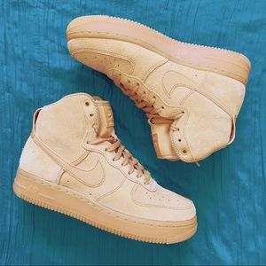 Nike Air Force 1 HI SE Elemental Gold W AUTHENTIC